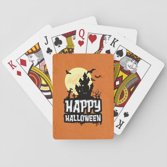 Happy halloween kortlek