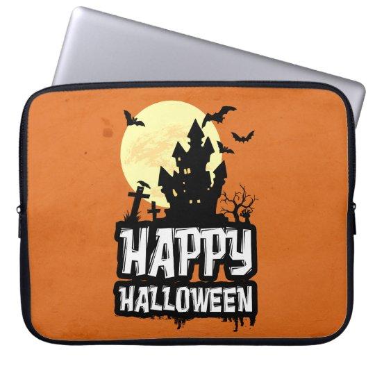 Happy halloween laptop sleeve