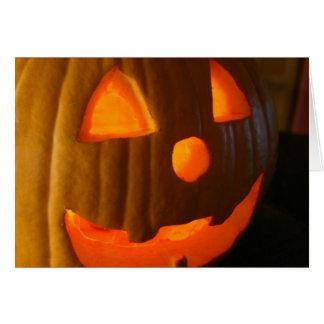 Happy halloween OBS kort