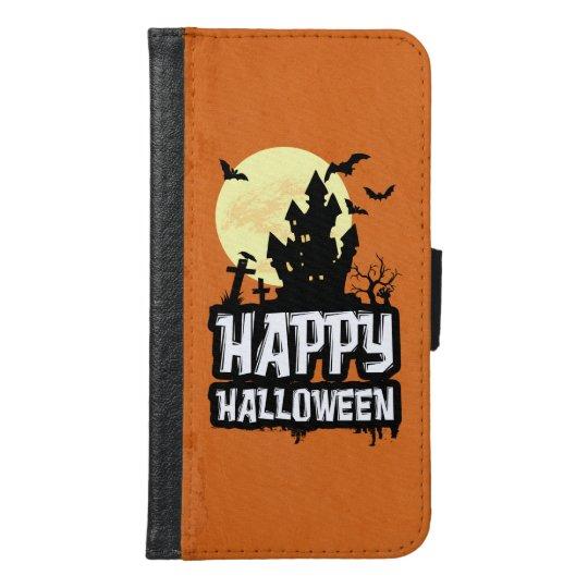 Happy halloween plånboksfodral för samsung galaxy s6