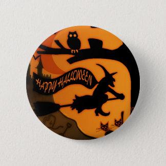 Happy halloween standard knapp rund 5.7 cm