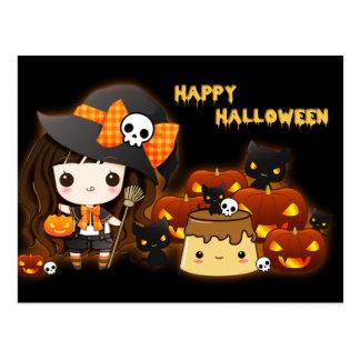 Happy halloween vykort
