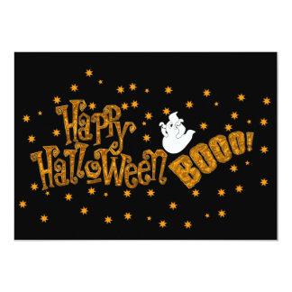 Happy halloweenbu 12,7 x 17,8 cm inbjudningskort