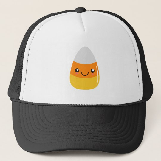 Happy halloweencandy corn Emoji Truckerkeps