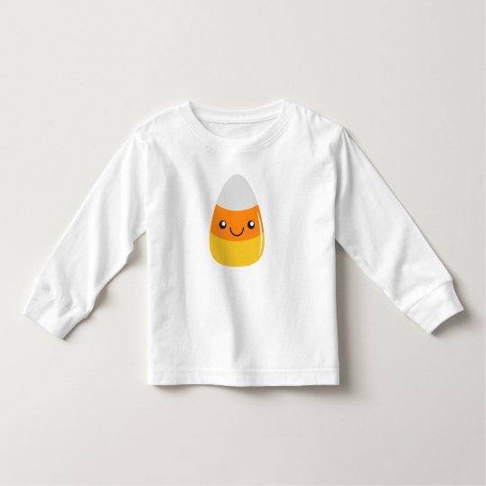 Happy halloweencandy corn Emoji Tshirts