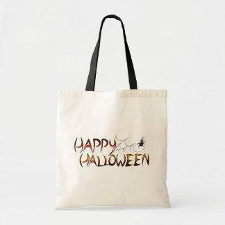 Happy halloweengodisen hänger lös budget tygkasse