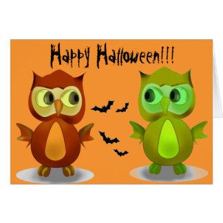 Happy halloweenhälsningkort hälsningskort