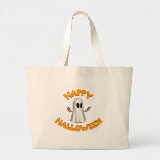 Happy halloweenspöke tygkassar