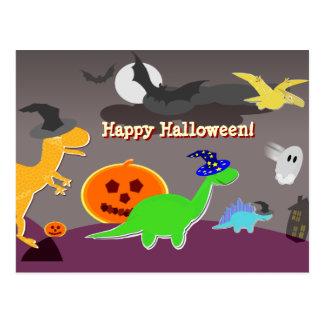 Happy halloweentecknadvykort vykort