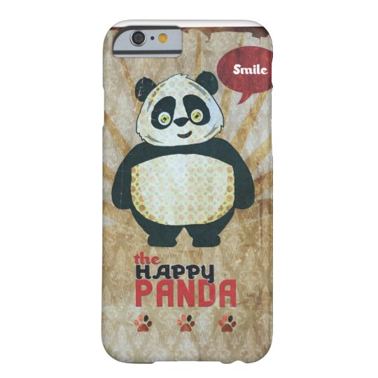 Happy Panda Barely There iPhone 6 Fodral