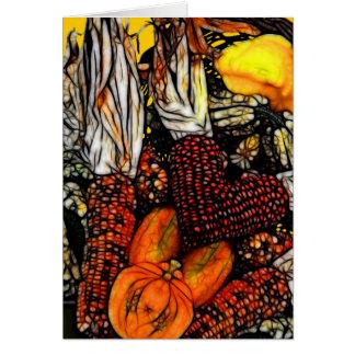 Happy thanksgiving! hälsningskort