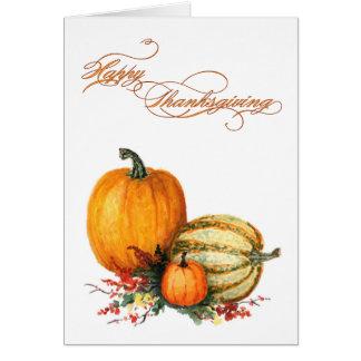 Happy thanksgiving hälsningskort