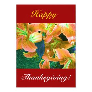 Happy thanksgiving II 12,7 X 17,8 Cm Inbjudningskort
