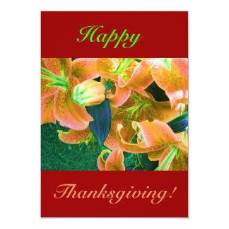 Happy Thanksgiving II Personalized Invites