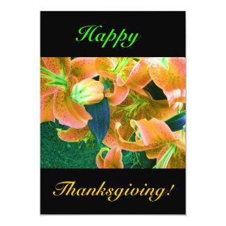 Happy thanksgiving inbjudningskort