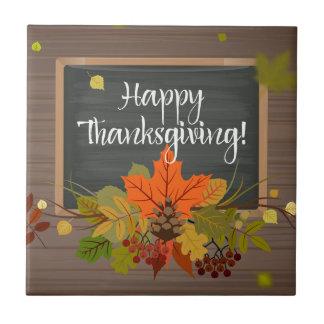 happy thanksgiving kakelplatta