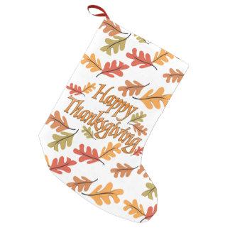 Happy thanksgiving liten julstrumpa