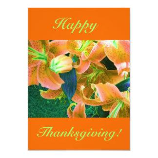 Happy thanksgiving V 12,7 X 17,8 Cm Inbjudningskort