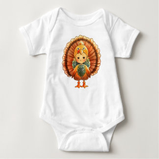 Happy thanksgivingbabyJersey Bodysuit T Shirts