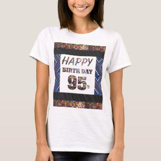 happybirthday grattis på födelsedagen 95 tröja