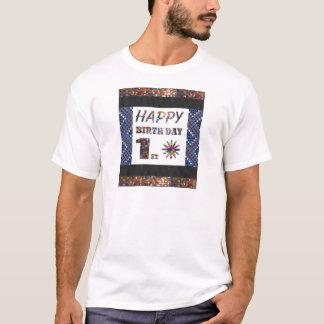 happybirthday grattis på födelsedagen först 1st tröja