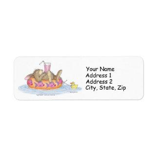 HappyHoppers® adressetiketter