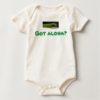 Har aloha? Hawaiansk baby Sparkdräkt