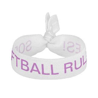 Här är en gullig hårtie för din softballdrottning! hårband