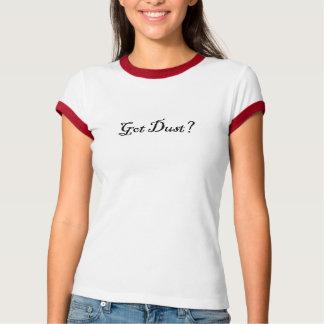 har dammar av t-shirts