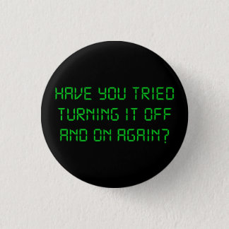 Har du försökt som är roterande det av och på mini knapp rund 3.2 cm