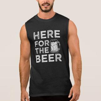 Här för roliga ordstävmanar för öl skjorta sleeveless tröja