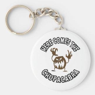 Här kommer chupacabraen rund nyckelring