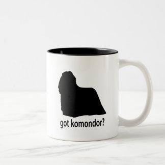 Har Komondor Två-Tonad Mugg