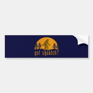 Har Squatch? Vintage Bildekal