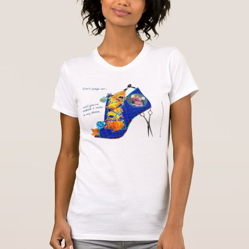Hår stylist förstörd T T Shirt