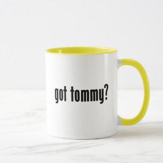 har tommy? mugg