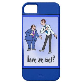 Har vi mött? iPhone 5 Case-Mate fodraler