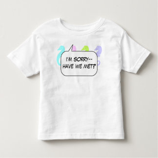 Har vi mötte t-shirts