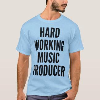 Hård funktionsduglig musikproducent t-shirt