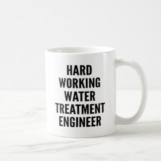 Hård funktionsduglig vattenbehandlingingenjör kaffemugg