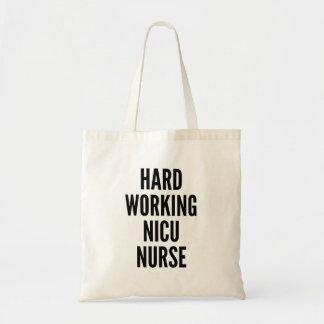 Hård sjuksköterska för arbete NICU Budget Tygkasse