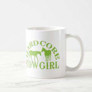Hardcore limefruktgrönt för cowgirl A262 Kaffemugg