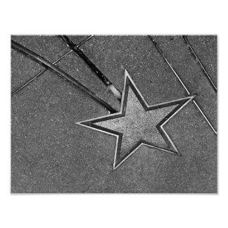 Hårdna stjärnan fotografiskt tryck