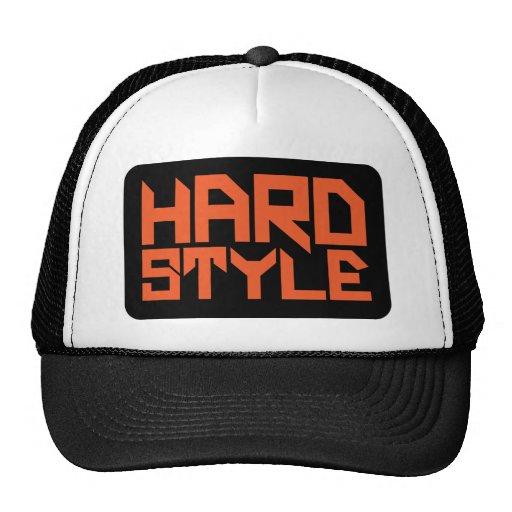 Hardstyle kvadrerar baseball hat