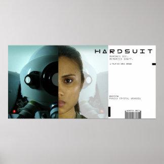 Hardsuit filmaffisch poster