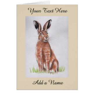 Hare Hälsningskort
