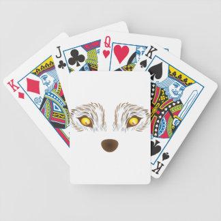 Hårigvargansikte Spelkort
