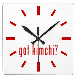 harkimchi? fyrkantig klocka