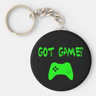 Harlek?  Rolig Gamer Keychain Rund Nyckelring