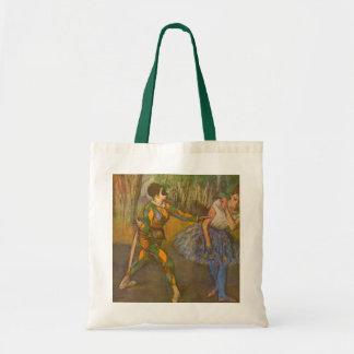 Harlequinen och Columbine av Edgar Degas Tygkasse